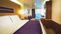 Mini suite con balcón grande, popa
