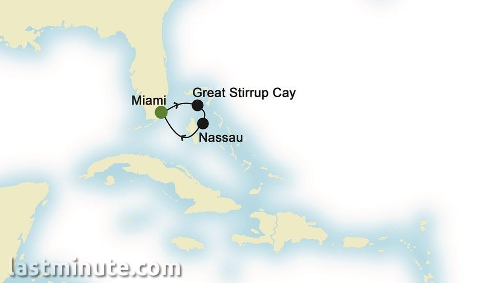 BAHAMAS au départ de Miami