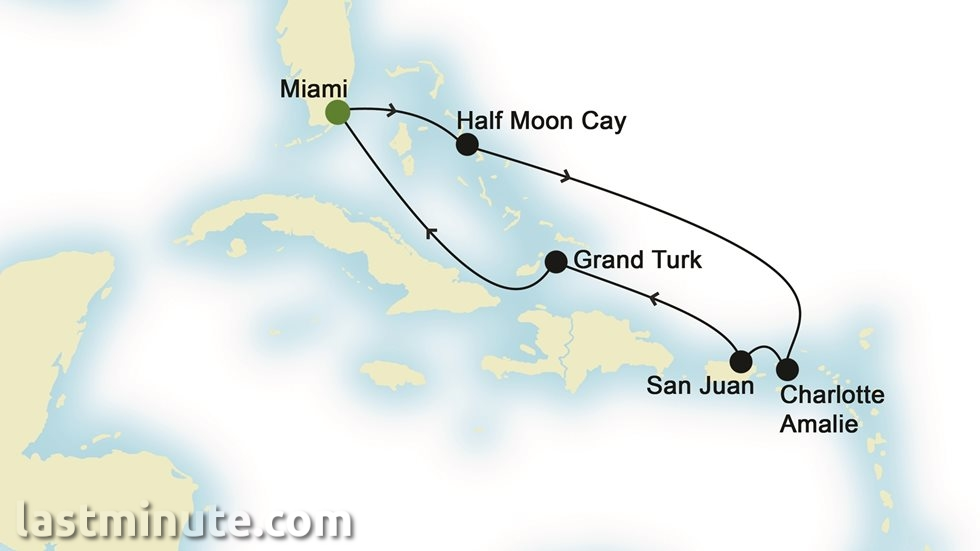 CARAÏBES au départ de Miami