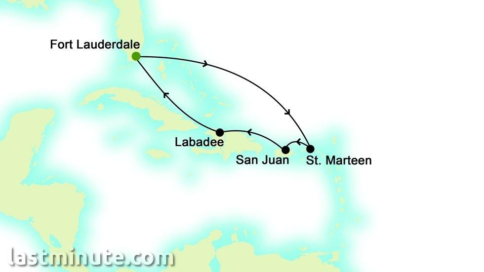 CARAÏBES au départ de Fort Lauderdale