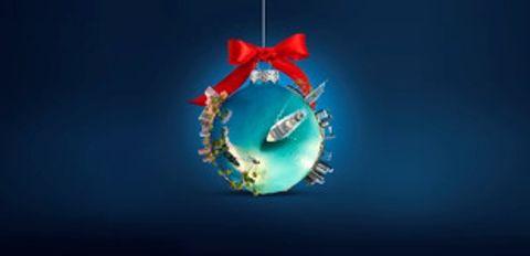 Navidad en alta mar