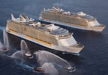 Oasis e Allure of the Seas