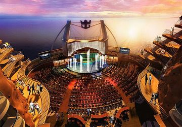 Oasis of the seas Aquatheater