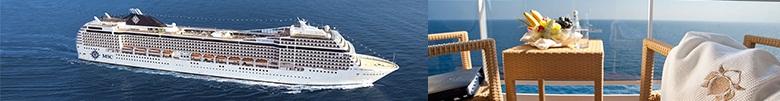 Última hora  salidas Verano con MSC Cruceros a precios increíbles