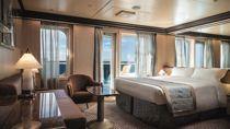 Gran Suite con balcón sobre el mar