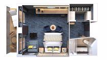 Suite Familiale avec Balcon et service de conciergerie