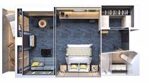 Penthouse Suite The Haven avec balcon
