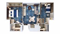Concierge Family Interna con balcone virtuale