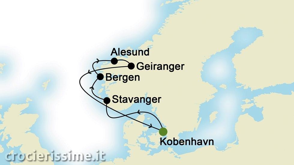 FIORDI NORVEGESI da Copenhagen