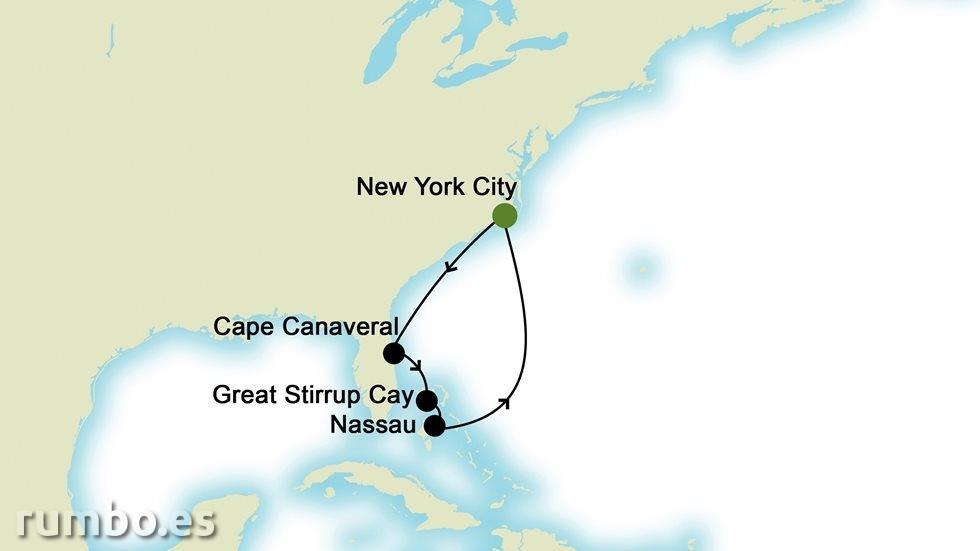BAHAMAS desde Nueva York