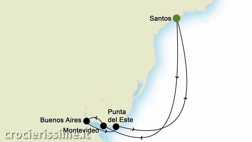 SUD AMERICA da Santos