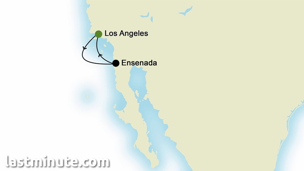 RIVIÈRE MEXICAINE au départ de Los Angeles
